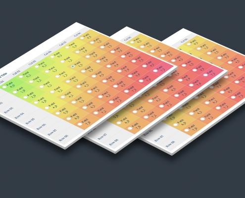 Table Matrix Field